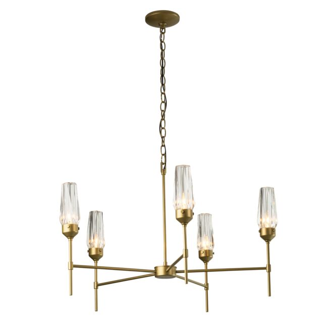 Product Detail: Luma 5 Arm Chandelier