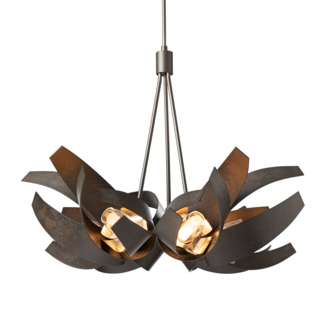 Product Detail: Corona Brass Accent Pendant