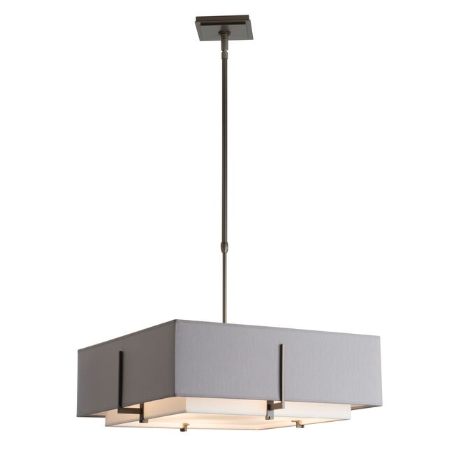 Product Detail: Exos Square Double Shade Pendant