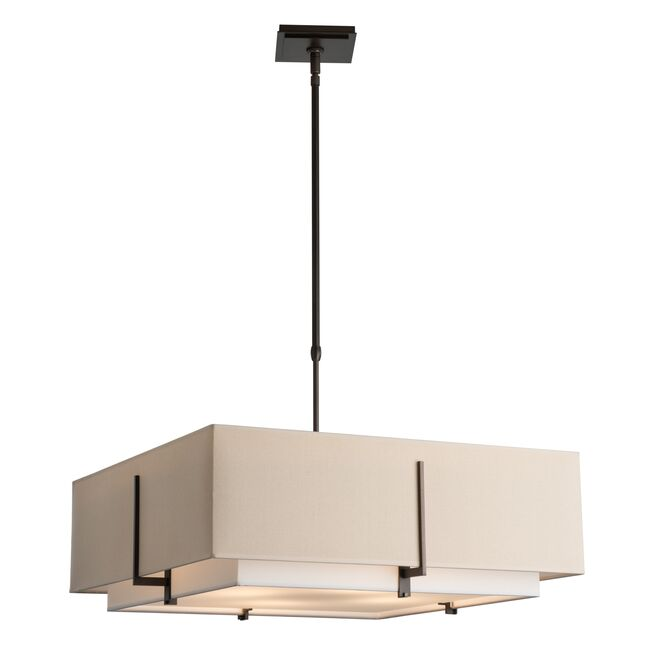 Product Detail: Exos Square Large Double Shade Pendant
