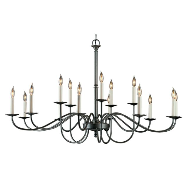 Product Detail: Simple Lines 15 Arm Chandelier