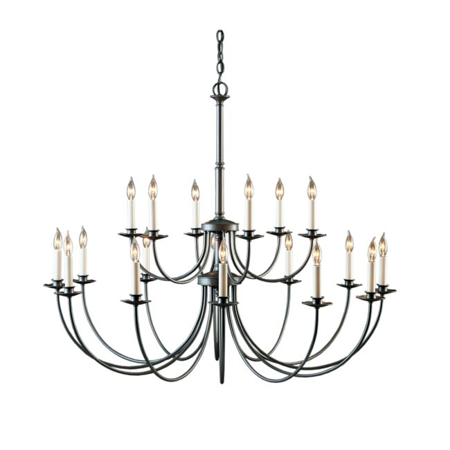 Product Detail: Simple Lines 18 Arm Chandelier