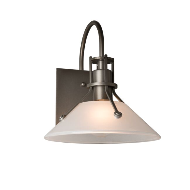 Product Detail: Henry Small Glass Shade Outdoor Sconce