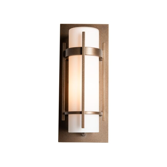 Product Detail: Banded Small Outdoor Sconce