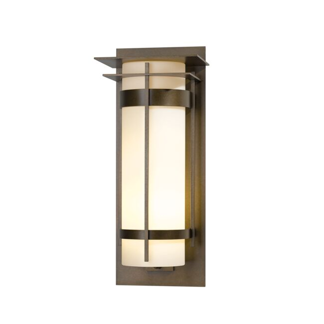 Product Detail: Banded with Top Plate Extra Large Outdoor Sconce