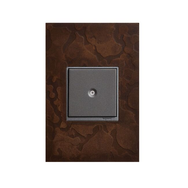 Product Detail: Legrand Hubbardton Forge 1 Gang Wall Plate