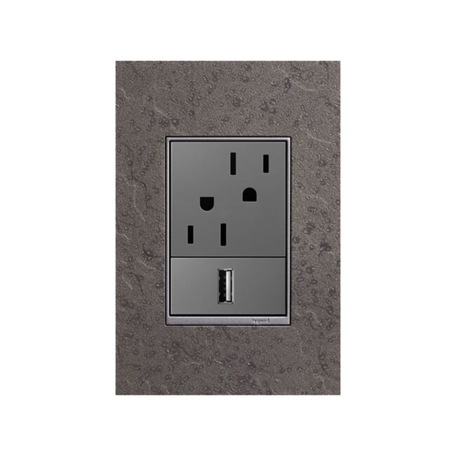 Product Detail: Legrand Hubbardton Forge 1 Gang+ Wall Plate