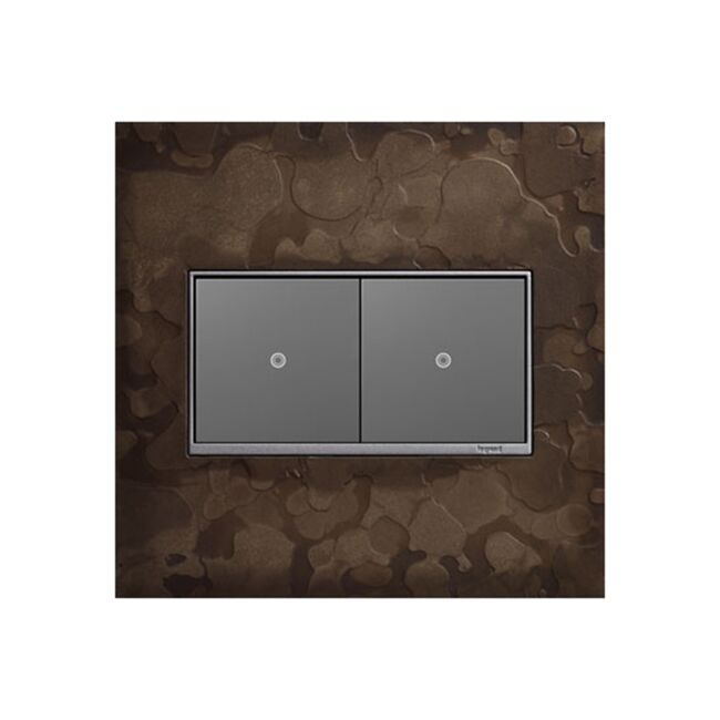 Product Detail: Legrand Hubbardton Forge 2 Gang Wall Plate