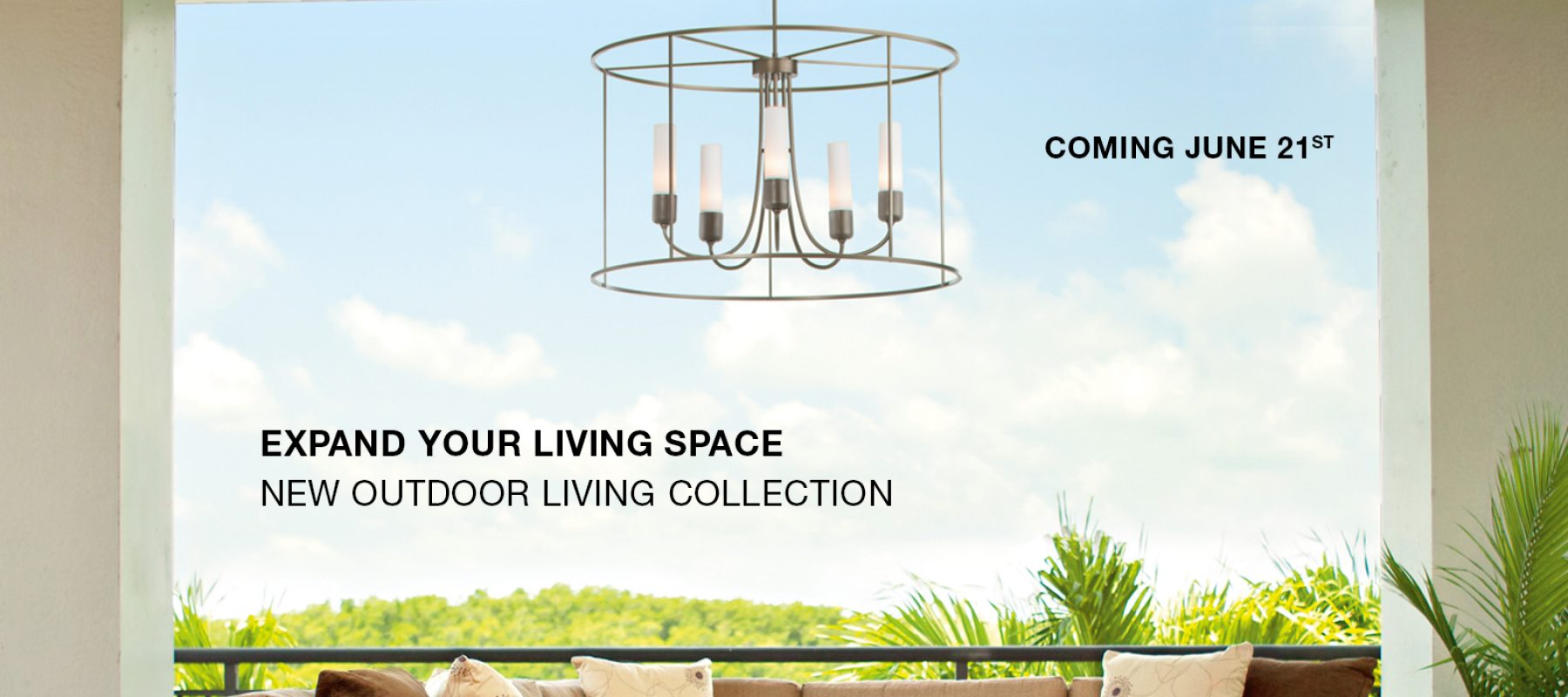 New Outdoor Living Collection from Hubbardton Forge